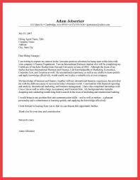 100 finance internship application letter sample sample