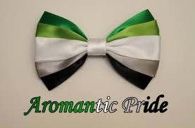 Aromantic Flag Aromantic Pride Bow