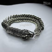 mens silver jewelry bracelet images Discount chinese tibet tribal miao silver men 39 s jewelry bracelet jpg