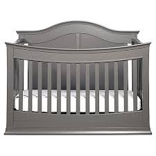 Black Convertible Cribs Davinci Meadow 4 In 1 Convertible Crib In Slate Buybuy Baby