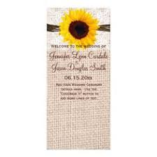 country wedding programs rustic burlap lace twine heart address labels burlap lace