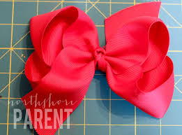 big hair bows how to make a big southern bow northshore parent