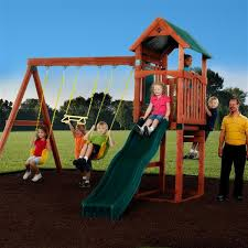 Backyard Swing Sets For Kids by Kids Wooden Outdoor Playsets