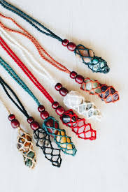 crochet necklace images Crochet necklace tree of life jpg