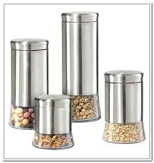 kitchen canisters stainless steel kitchen containers cube jars set of 3 kitchen glass jar storage