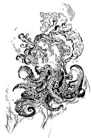 beautiful octopus woman images google search tattoo ideas
