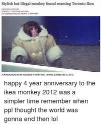 Ikea Monkey Meme - 25 best memes about ikea monkey ikea monkey memes