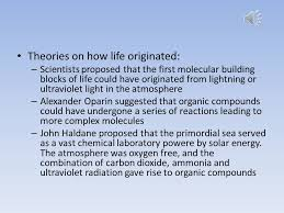 origin and evolution of in the oceans ppt