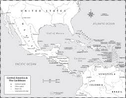 Blank Map Of Caribbean And Central America by Central America And Mexico History Of Dress Clothing And Fashion