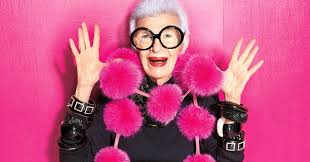 Iris by 95 Year Old Fashion Icon Iris Apfel Says Hard Work Is Her Fountain