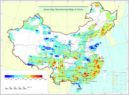 Harbin China Map by Multi Scale Geochemical Mapping In China Geochemistry