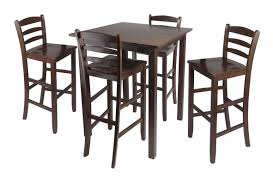 high top kitchen table set kitchen table round high top set metal folding 2 seats brass