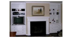 Fireplace Side Cabinets by Built In Cabinets Westwood Furniture Company