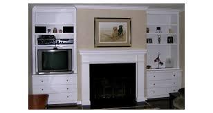 fireplace mantel side units
