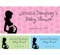 baby shower banners baby shower theme banner