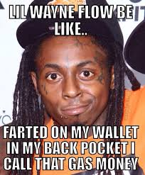 Lil Wayne Be Like Meme - proof lil wayne doesnt give a fuck about his music or career genius
