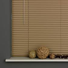 25mm aluminium venetian blind taupe free uk delivery terrys