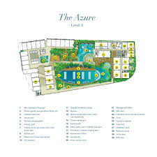 The Azure Floor Plan by Facilities