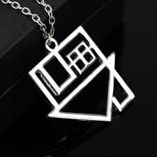 silver rock necklace images Silver rock band the neighborhood rock music nbhd logo pendant jpg