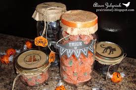 Halloween Candy Jars by Prairie Story October 2010