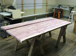 cedar table top commission full circle of woodworking