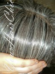 transitioning to gray hair with lowlights blending in greys in brown hair yahoo search results hair