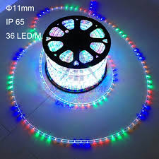 multicolor led rope lights clear waterproof tubing custom length