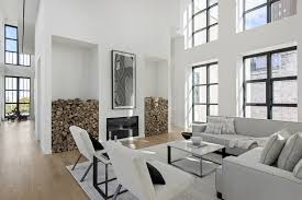 a sleek minimalist penthouse in the heart of tribeca ny