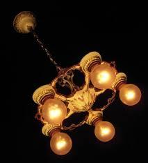 Art Nouveau Lighting Chandelier Art Nouveau Page 3 Vintage Lighting U0026 Fan Shoppe