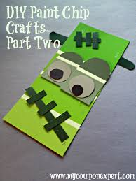 Paint Chips by Frugal Fall Diy Projects Paint Chip Crafts Part Two My Coupon