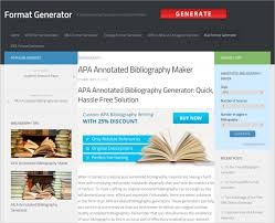 annotated bibliography generator u2013 10 free online tools download