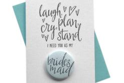 asking bridesmaids cards will you be my cards for wedding bridesmaid groomsman mix