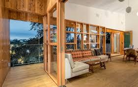 Hillside Home Designs Hillside Home Cozy Cantilevered Design Built Around A Tree