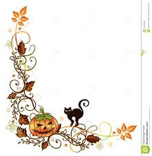 free halloween borders elegant fall colorful leaves halloween letterhead writing paper