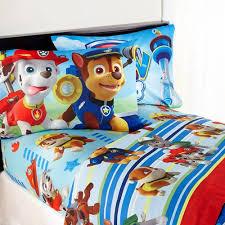 Sheet Bedding Sets Paw Patrol Puppy Bedding Sheet Set Walmart