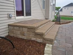 Composite Patio Pavers by Best 25 Patio Steps Ideas On Pinterest Outdoor Stairs Deck