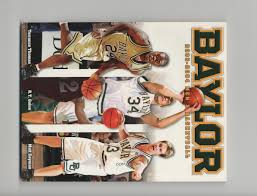 2003 04 baylor bears men u0027s basketball media guide n a