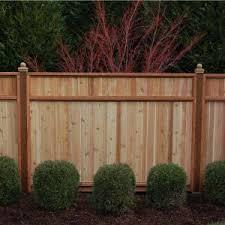 signature development 6 ft h x 8 ft w western red cedar solid