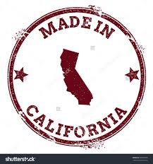 Usa State Map by California Vector Seal Vintage Usa State Stock Vector 404465902
