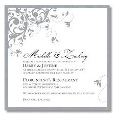 wedding stationery templates budget wedding invitations template wedding flourish silver