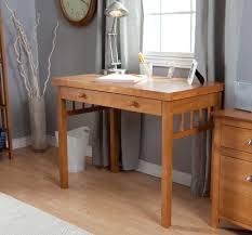 furniture rectangle brown polished wooden narrow computer desk