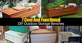 Plans For Making A Wooden Bench by Bedroom Awesome 7 Cool And Functional Diy Outdoor Storage Benches