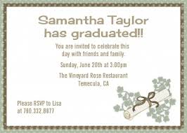 examples of graduation party invitations which free to download