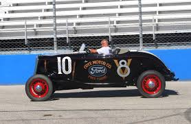 Ford Racing Flag America U0027s First Stock Car Was A Rod Ford Hotrod Hotline
