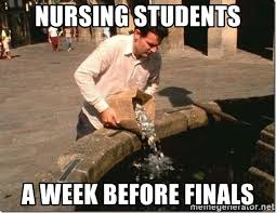 Finals Meme - list of synonyms and antonyms of the word nursing finals meme