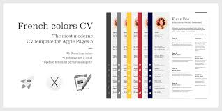 apple pages resume templates resume template for pages mac worthy vision color modular