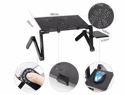 portable sofa table cooler folding table multi functional laptop stand for bed