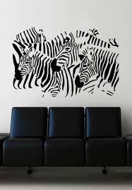 zebra herd wall art sticker african decal animal vinyl mural wa565 zebra herd wall art sticker african decal animal vinyl mural wa565