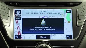 kereta hyundai elantra 2015 how to setup hyundai gps navigation system youtube