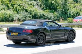 bentley supercar spied 2018 bentley continental gtc tests on public roads motor